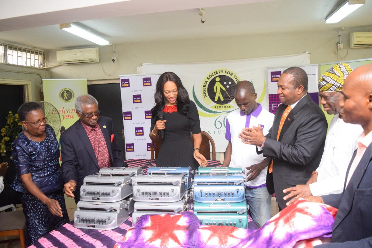 FCMB Donates Braille Machines