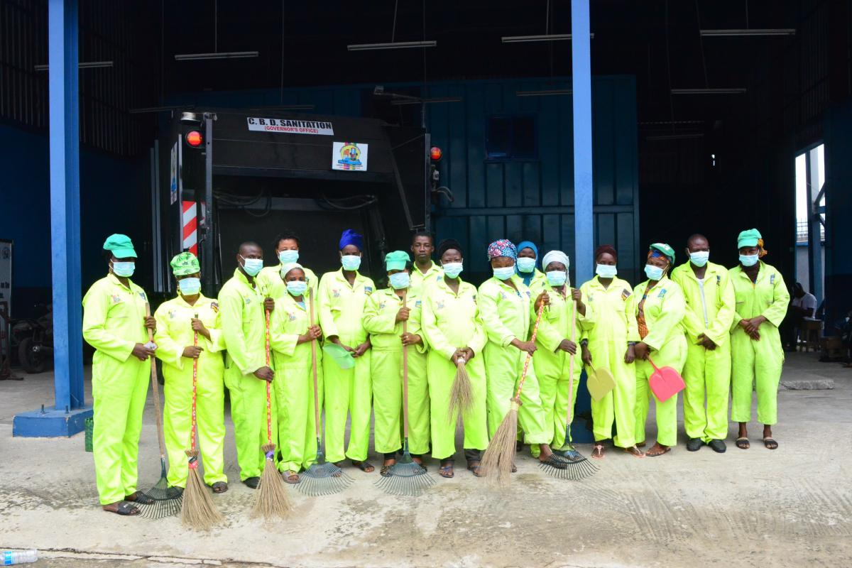Central Business District Cleaning Project