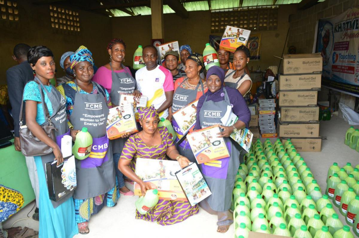 FCMB Empowers Women in Lagos to Green Energy Cooking