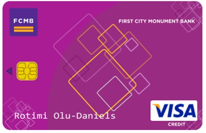 fcmb visa credit card